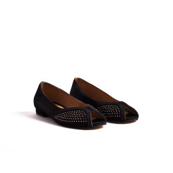 Tiffy Studs suede black