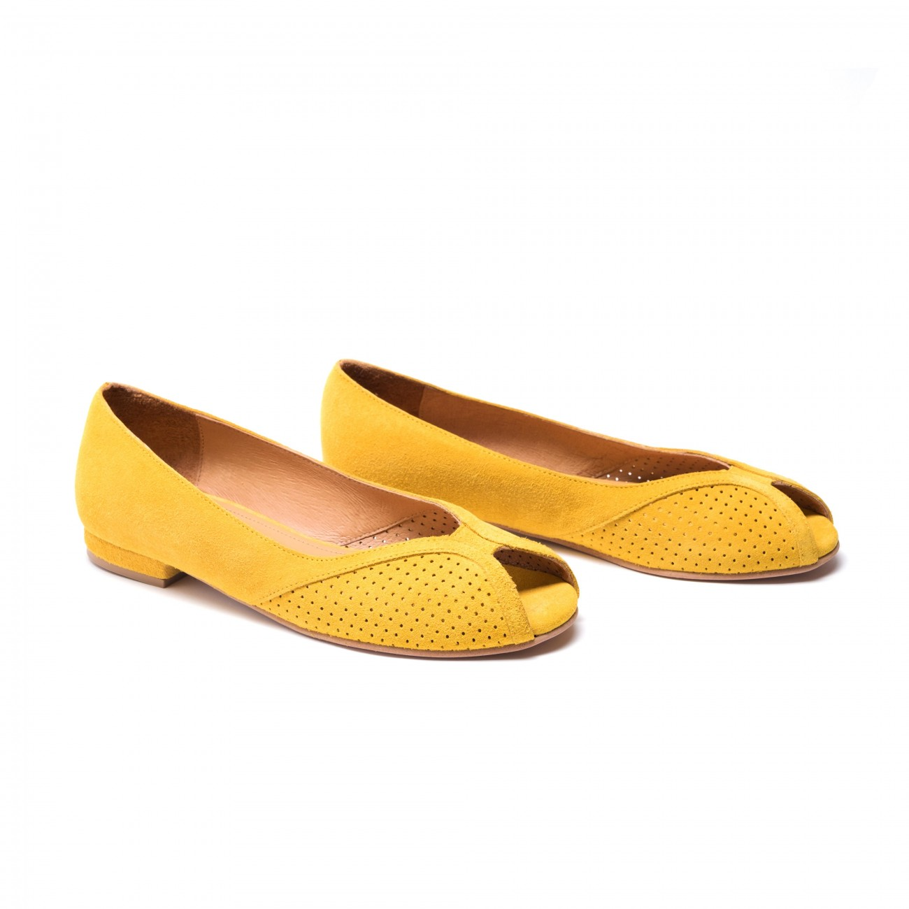 Tiffy suede yellow