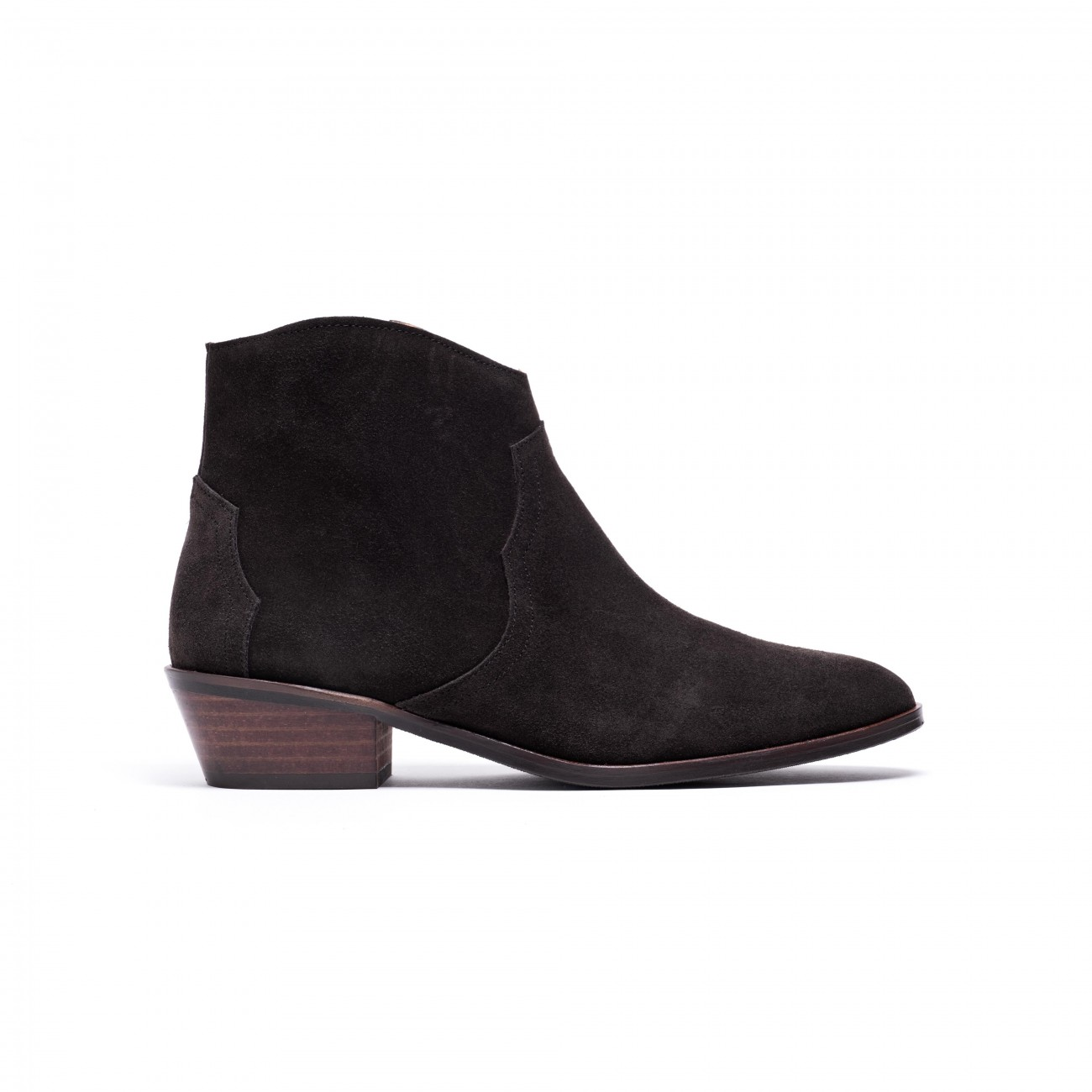 Fiona Coffee Brown Suede
