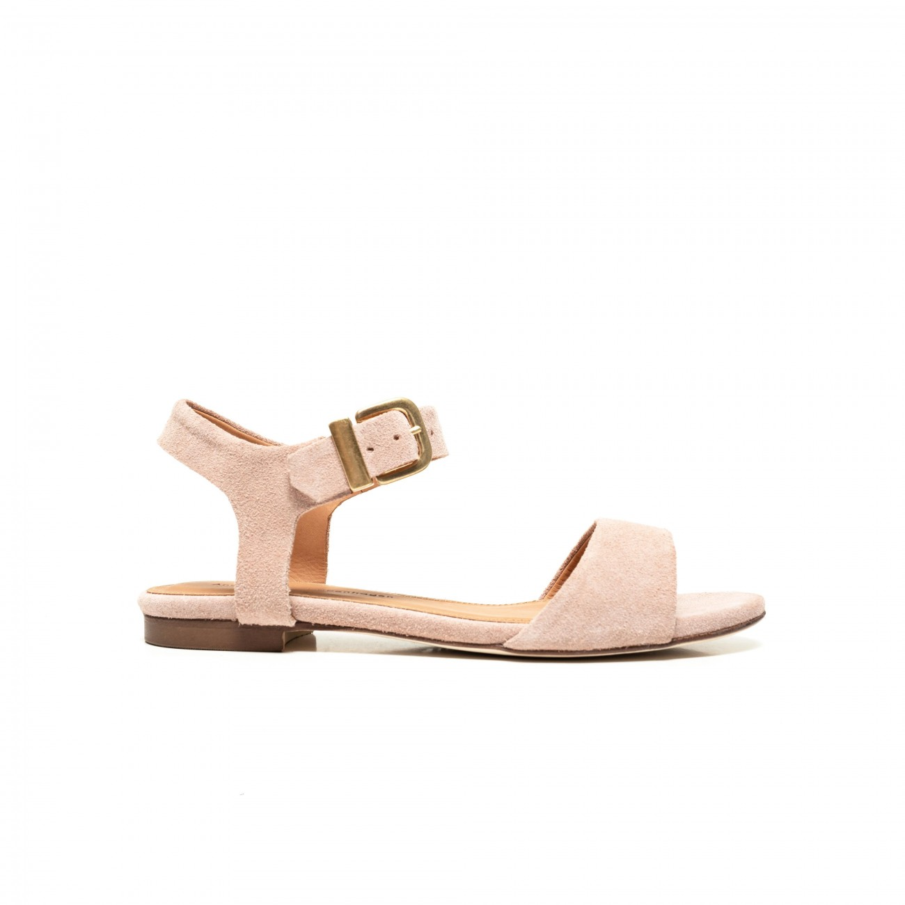 Lena suede pink shell