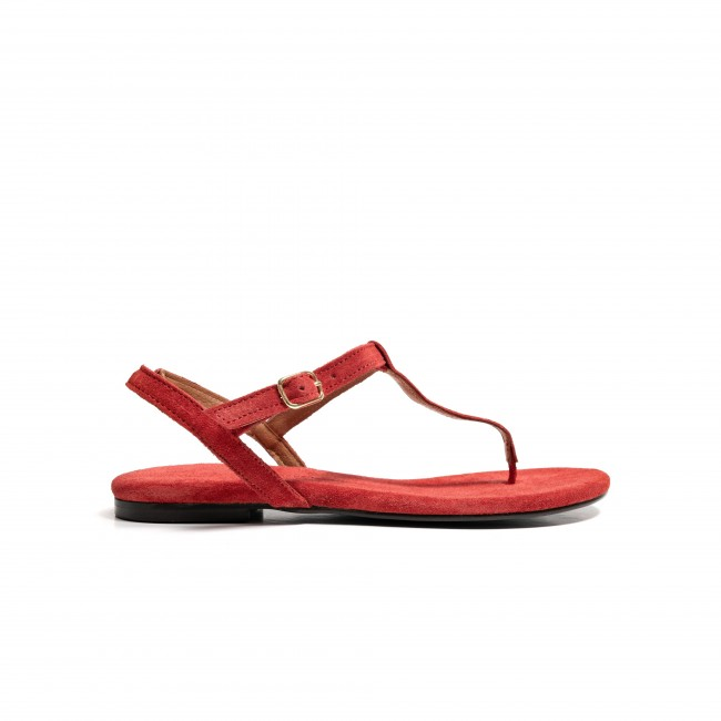 Ava suede red lollipop