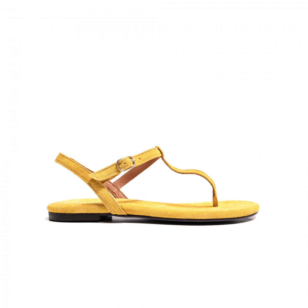 Ava suede yellow