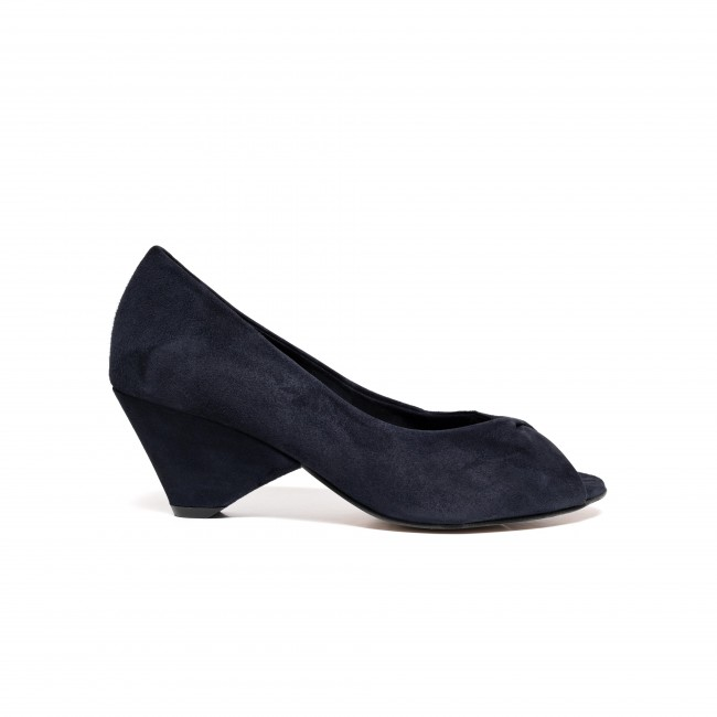 Luna suede dark blue