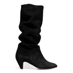 Jasmina Stiletto suede black