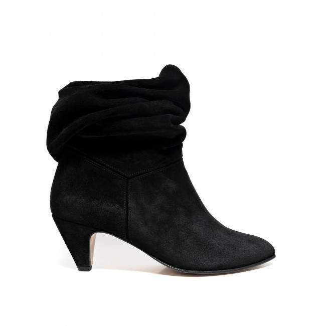 Jasmina 50 Stiletto suede black