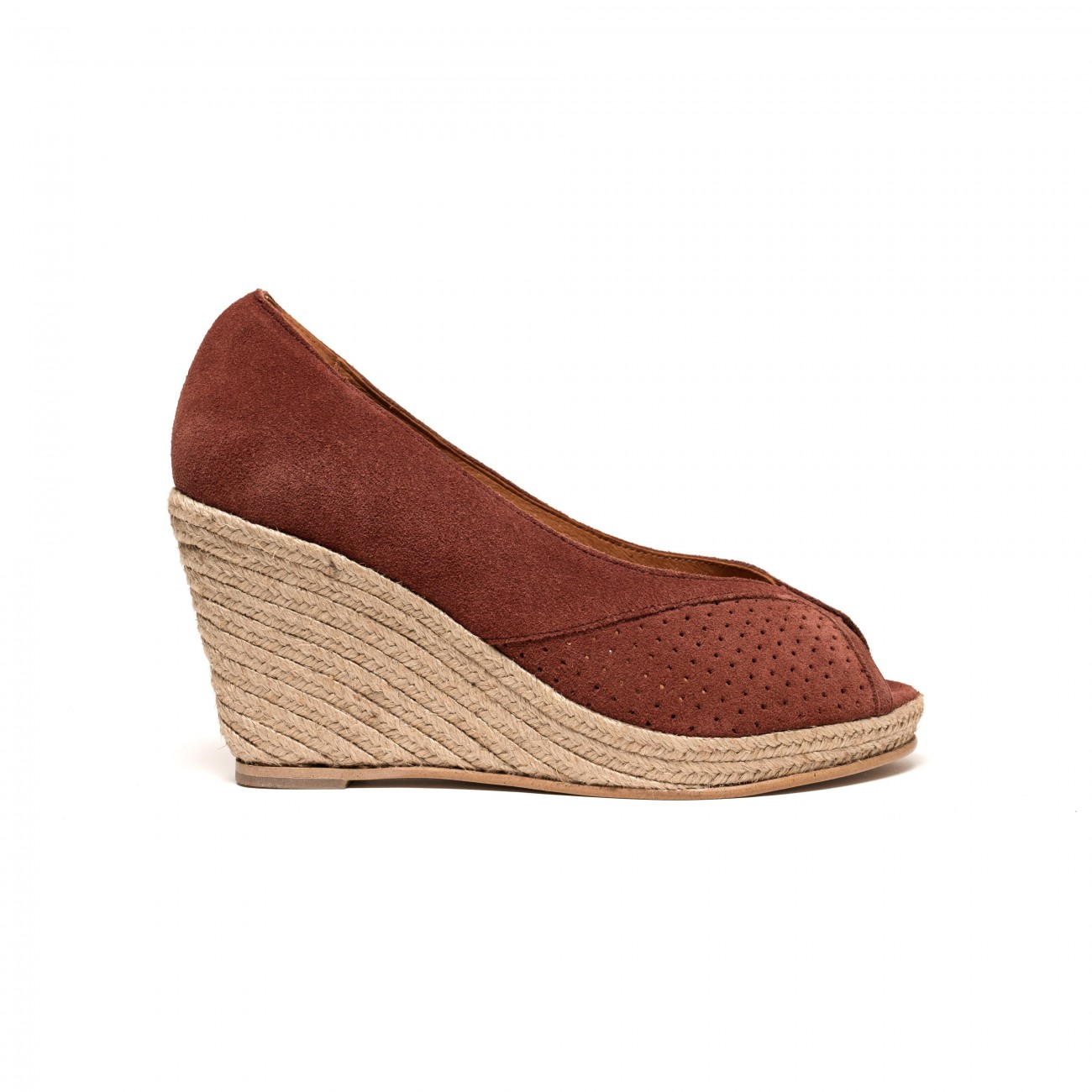 Tiffania Suede Rust