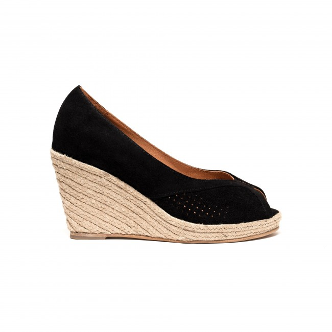 Tiffania Suede Black