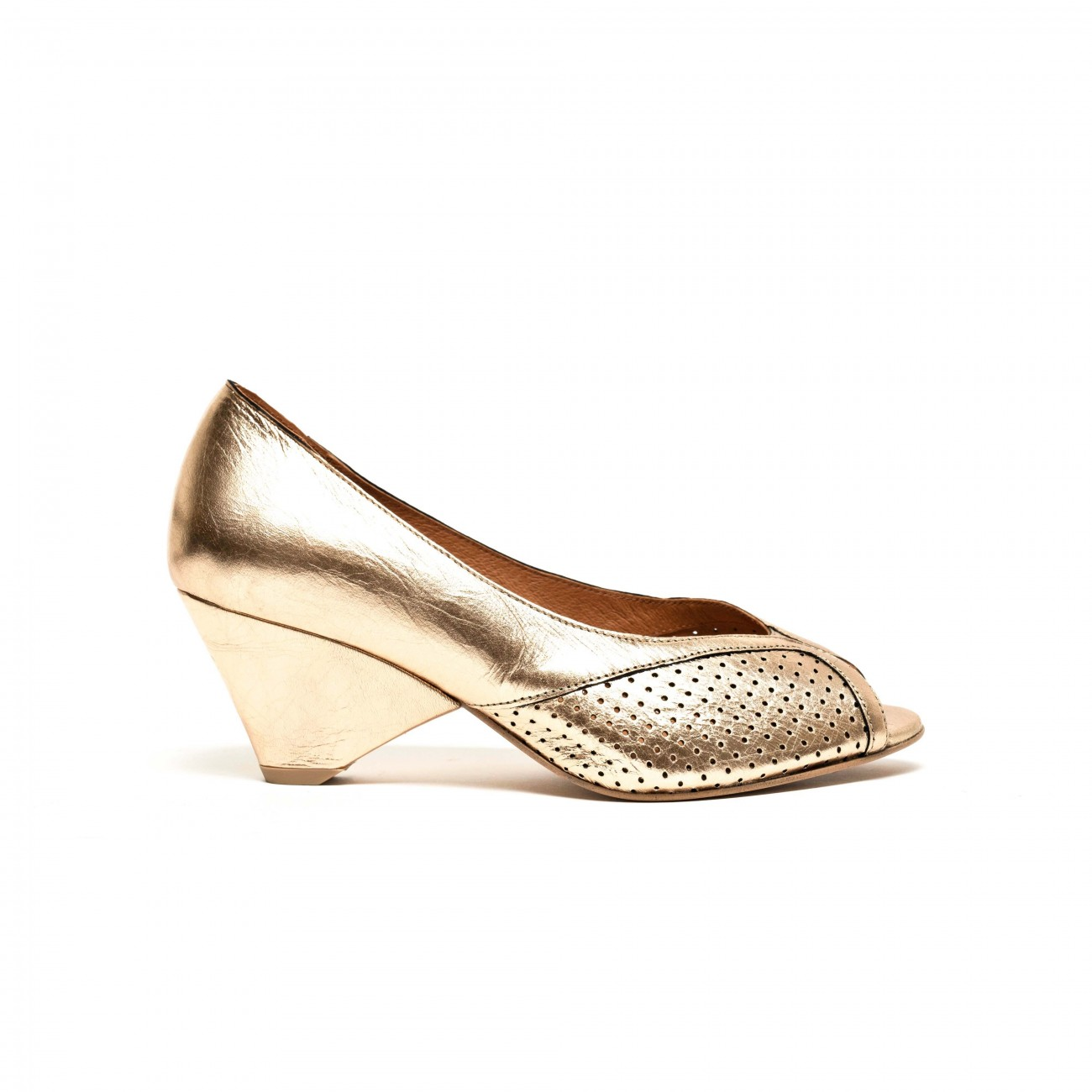 Tiffany grained metallic Nappa