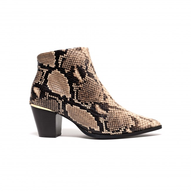 Suzie Snake calf Taupe