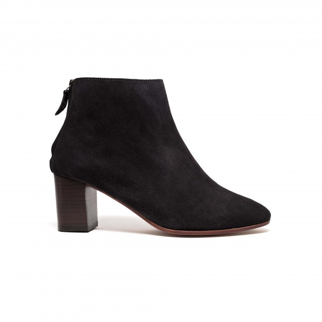 Miley 55 Suede Off black