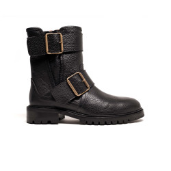 Helen Grained calf Black
