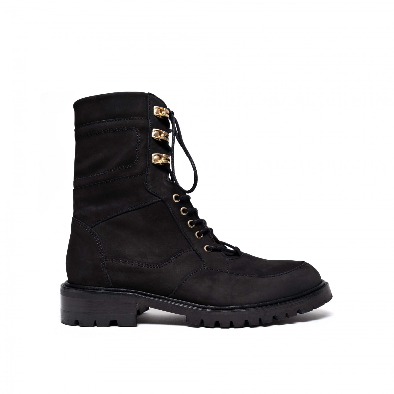 Juniper Nubuck Calf Black