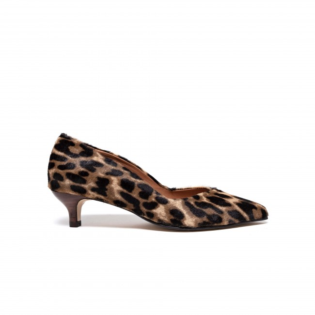 Beria Calf hair Tan Leopard