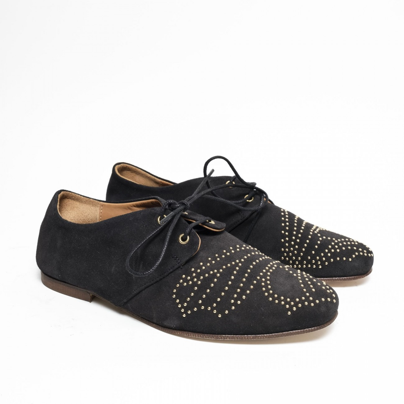 Wilma Suede Black - Size 38