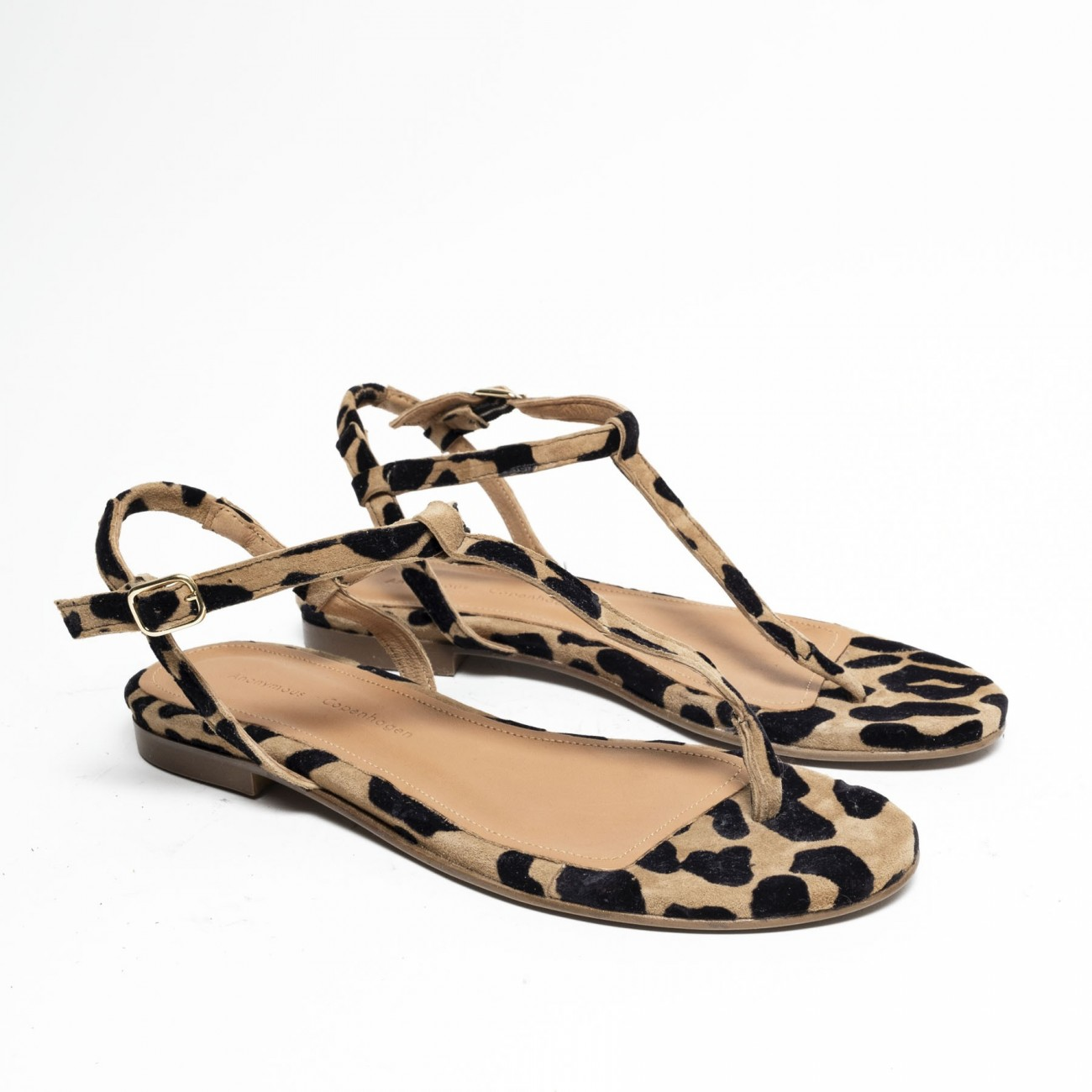 Ava Suede Leopard - Size 38