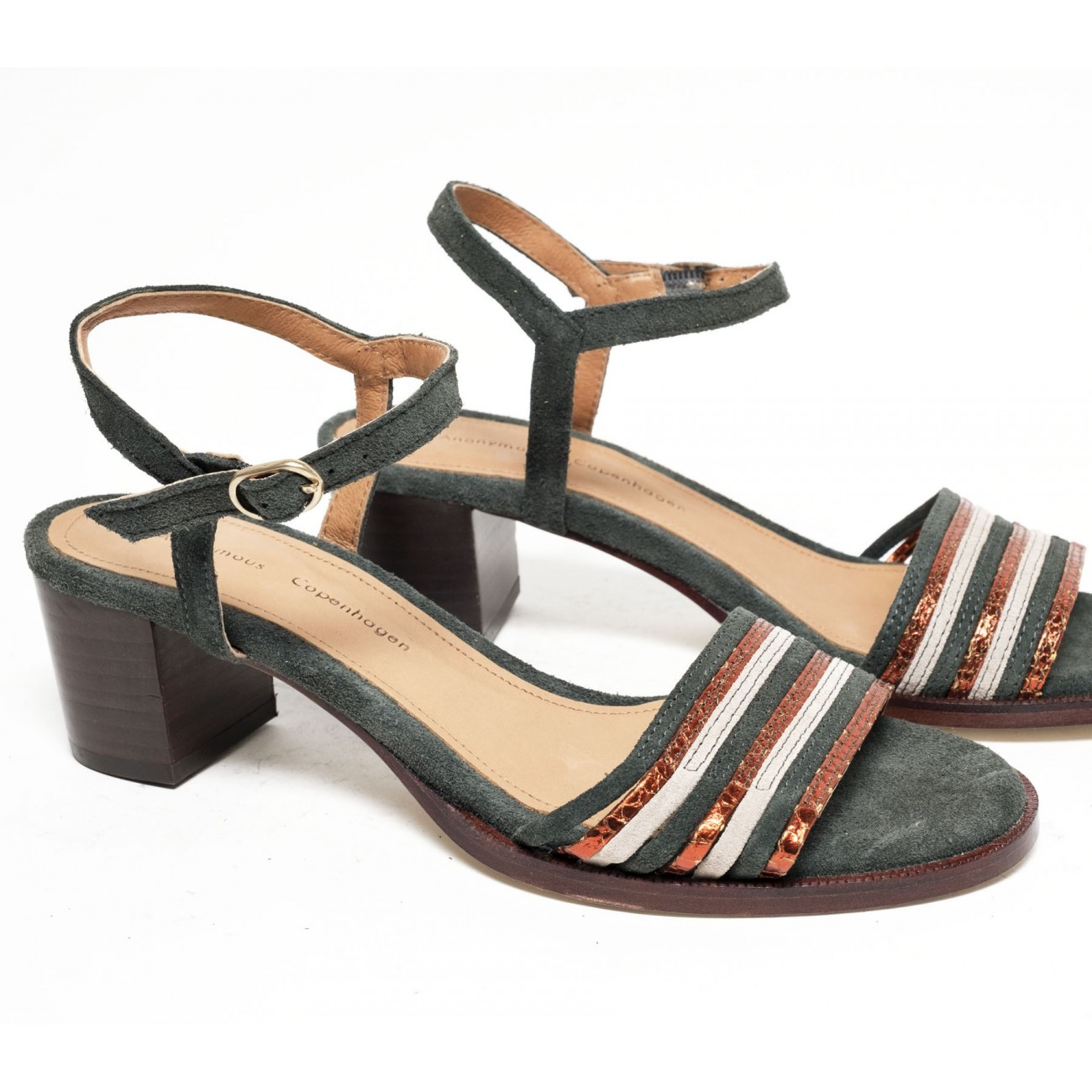 Dorthy Suede Forrest multi - Size 38