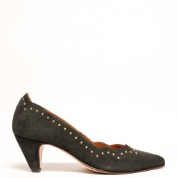 Jeanne Suede Rust