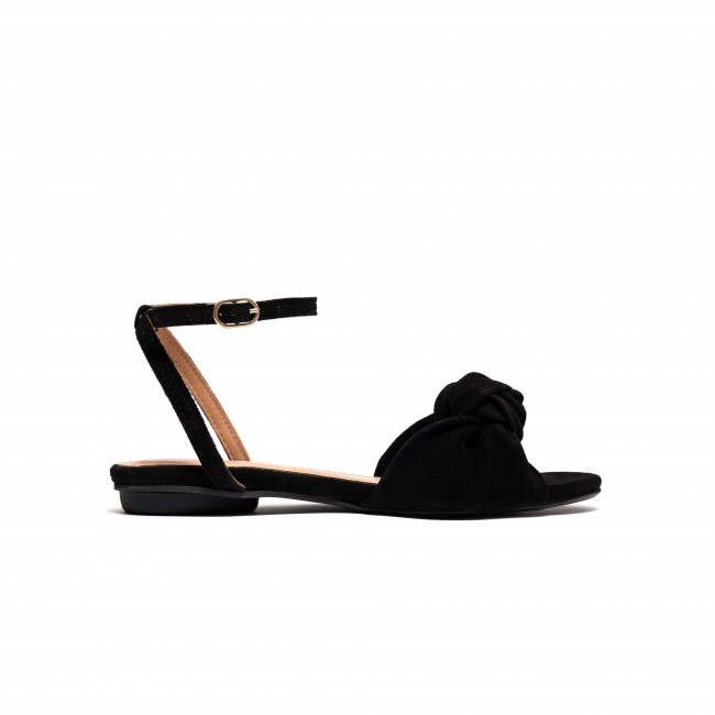 Aliza 10 Calf Suede Black