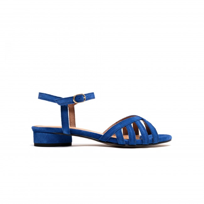 Issi 20 Calf suede Electric blue