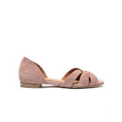 Sanni 20 Suede Burned rose