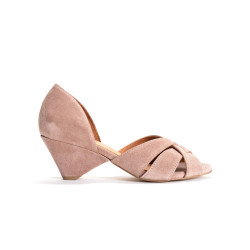 Sanni 50 Suede Burned rose
