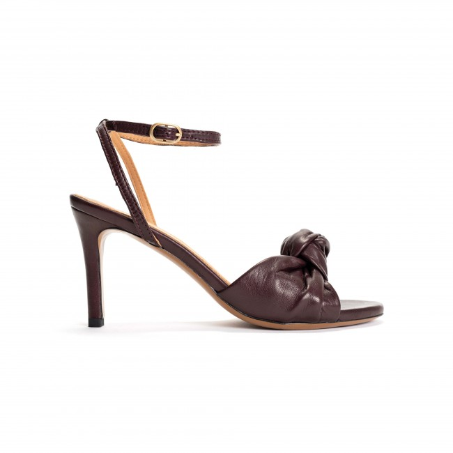 Aliza 80 Vegetable tanned lamb Coffee red