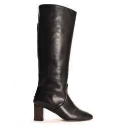 Henriette Soft calf Black