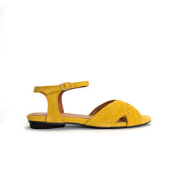 Niabi Calf Suede Yellow