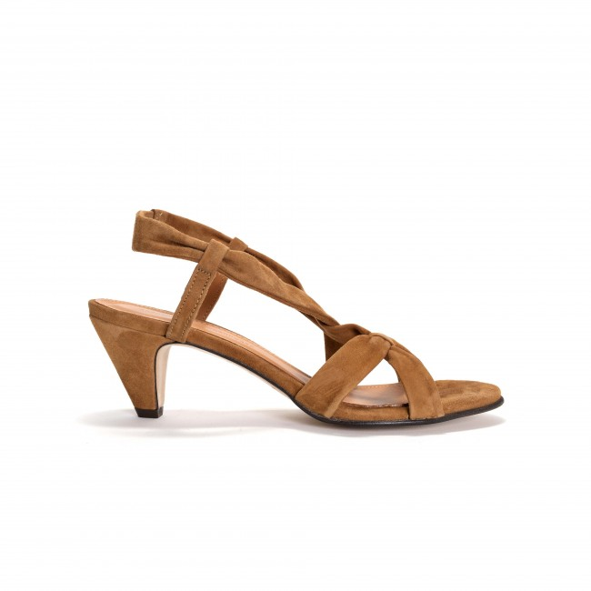 Isabelle Lamb suede Camel