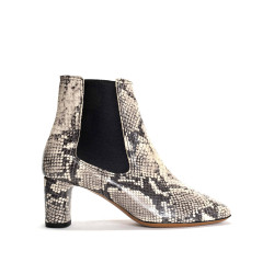 Dreami Snake calf Light grey